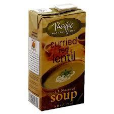 soup in carton